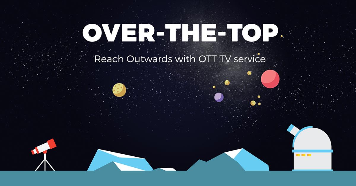 Infographic: OTT solution for TV operators
