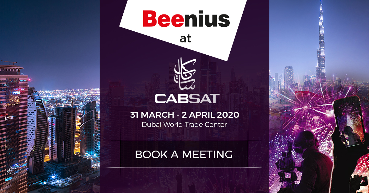 Beenius at CABSAT Dubai 2020