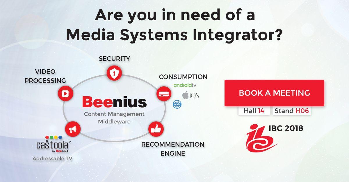 Beenius at IBC 2018 - Media Systems Integrator