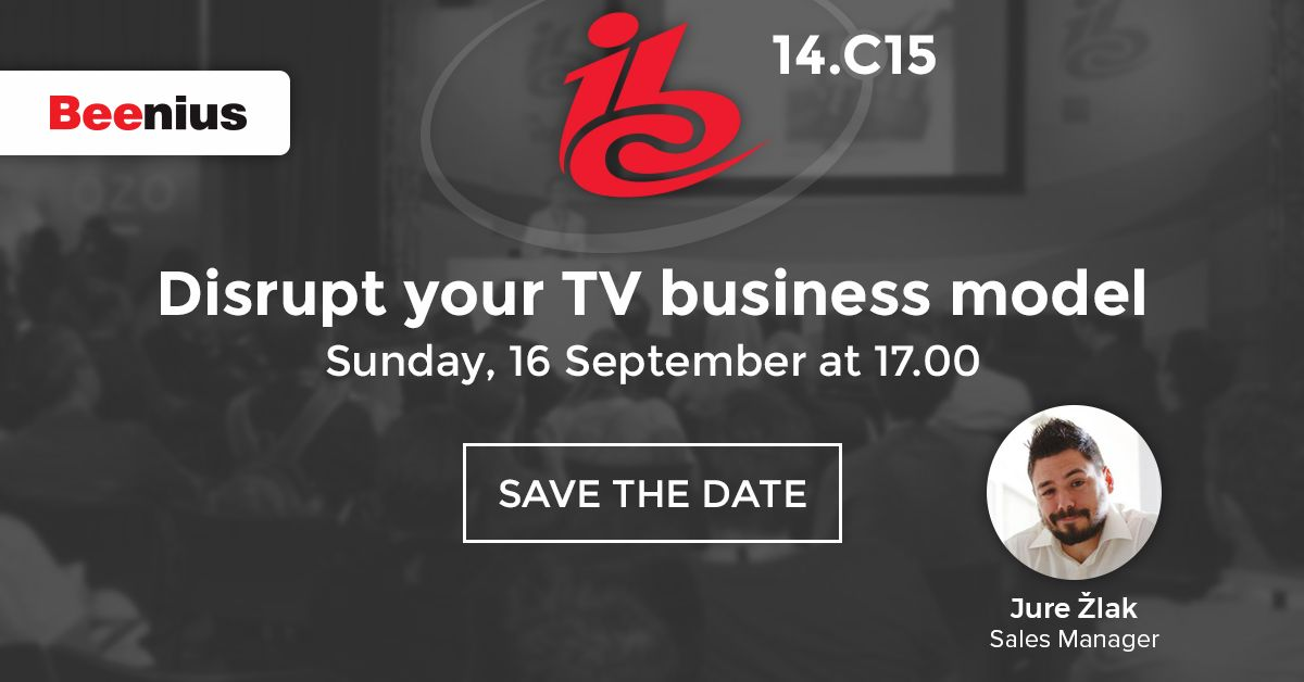 Jure Žlak - How to disrupt your TV business model