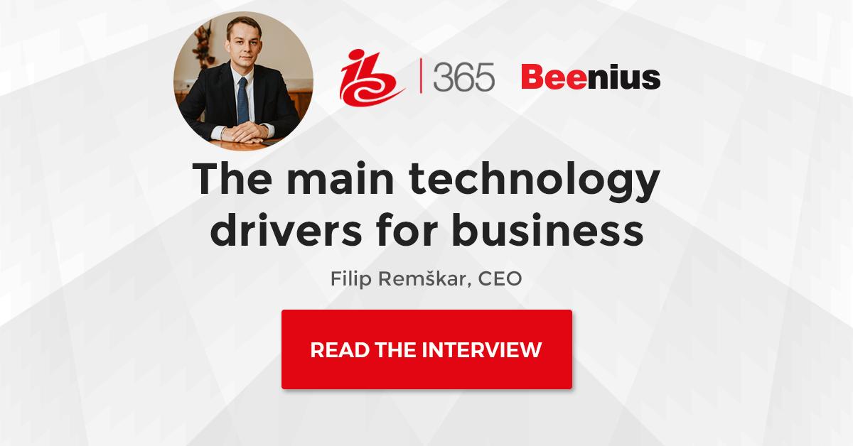 IBC365 Interview with Filip Remškar, CEO Beenius