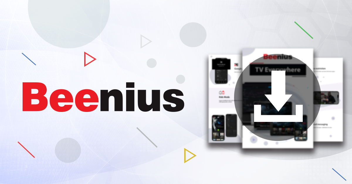 Beenius TV Everywhere brochure