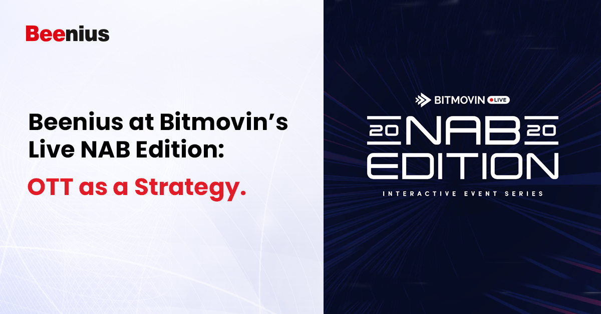 Bitmovin's Live NAB Edition 2020