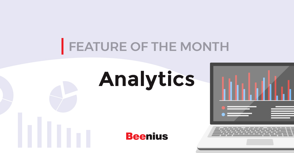 Feature of the Month: Analytics - banner