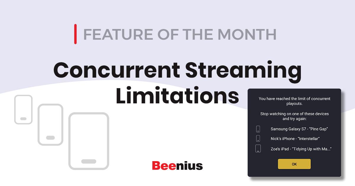 Concurent Stream Limitiations