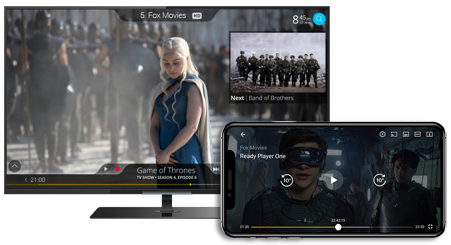 MultTV Devices UI